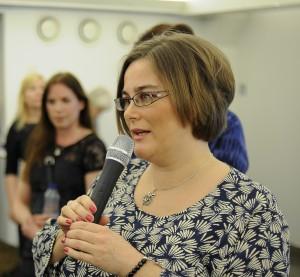 Kristina Svensson speaking foto Jimmy Sjökvist klippt